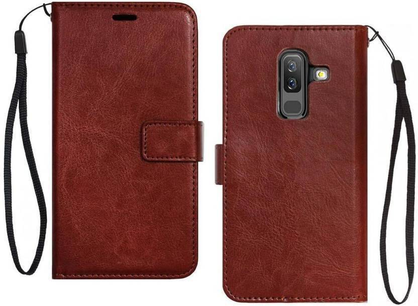 quality design 52075 c94c8 Casewilla Flip Cover for Samsung Galaxy On8 2018, Leather ...