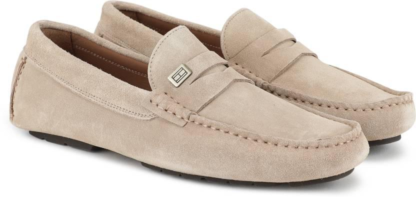c26c4346fe12 Tommy Hilfiger SEASONAL HARDWARE SUEDE LOAFER Loafers For Men - Buy ...