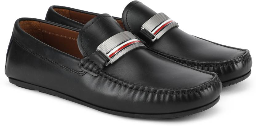 6b0ab038d Tommy Hilfiger HARDWARE LEATHER LOAFER Loafers For Men - Buy Tommy ...