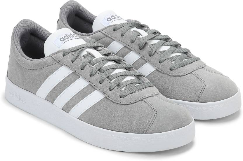 promo code 58c78 8a2c3 ADIDAS VL COURT 2.0 Sneakers For Men (Grey)