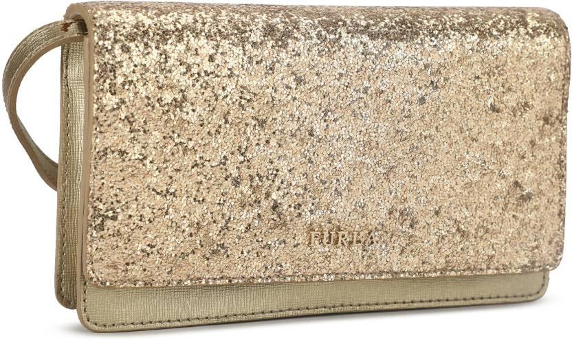 2c7ef7762f8b Furla Women Casual Gold Genuine Leather Sling Bag GOLD - Price in India |  Flipkart.com