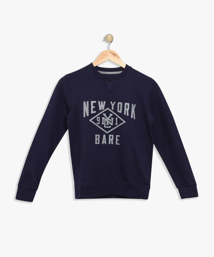 20a9ade07c37 BARE KIDS Full Sleeve Printed Boys Sweatshirt - Buy BARE KIDS Full Sleeve  Printed Boys Sweatshirt Online at Best Prices in India