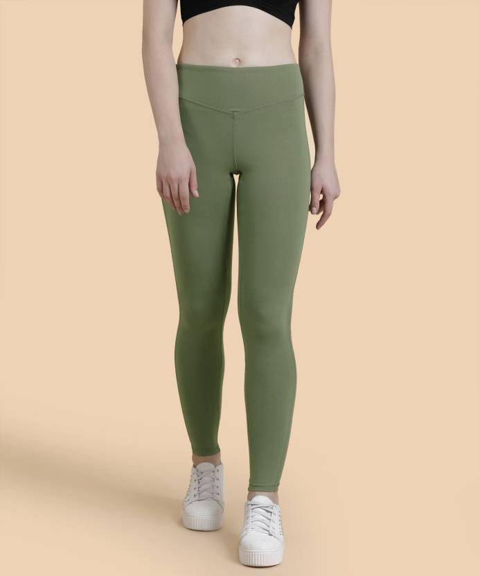 8ebe9118f54 Forever 21 Solid Women Green Tights - Buy TEAL BLACK Forever 21 Solid Women  Green Tights Online at Best Prices in India