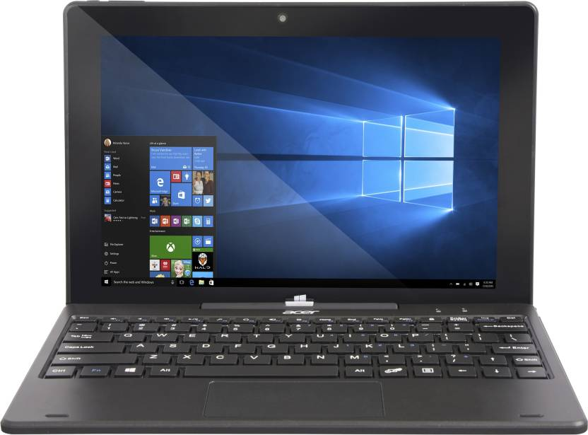 Acer Switch One Atom Quad Core - (2 GB/32 GB EMMC Storage/Windows 10 Home) SW110-1CT / SW110-ICT 2 in 1 Laptop  (10.1 inch, Black) Acer Laptops