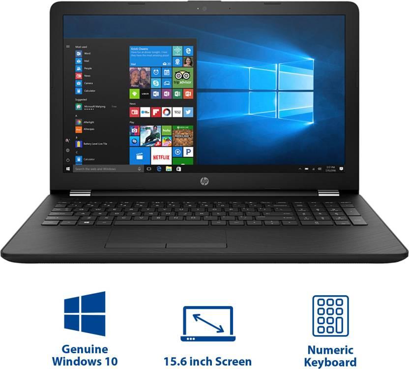 HP 15 APU Dual Core A6 - (4 GB/1 TB HDD/Windows 10 Home) 15-bw531AU Laptop(15.6 inch, Sparkling Black, 2.2 kg)