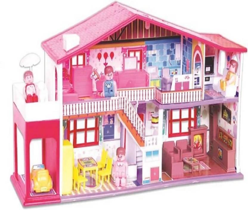 Grypton My Doll House 42pc Multicolor My Doll House 42pc