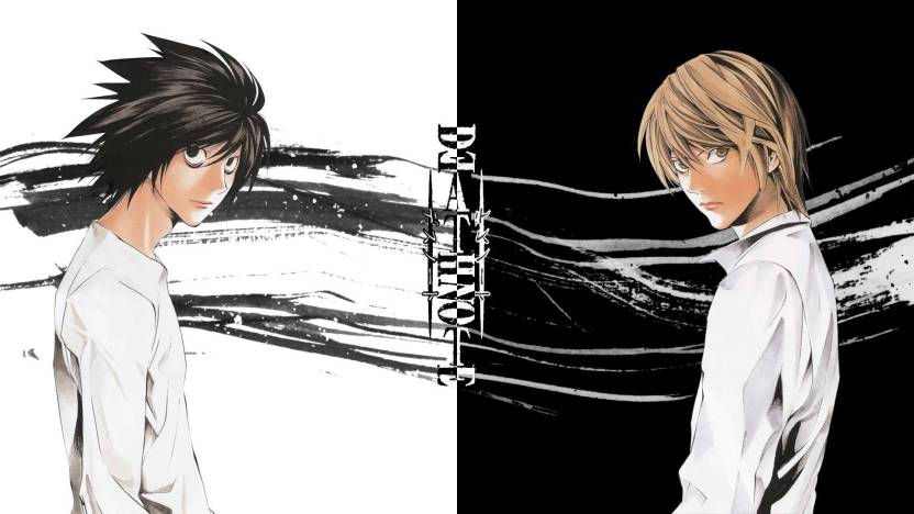 Athah Anime Death Note Light Yagami L 1319 Inches Wall Poster Matte