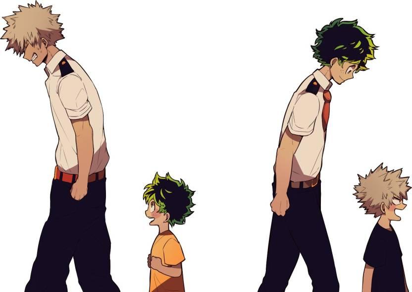 Athah Anime My Hero Academia Katsuki Bakugou Izuku Midoriya