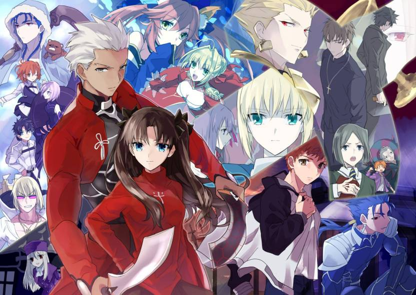 Athah Anime Fate/Grand Order Fate Series Archer Rin Tohsaka