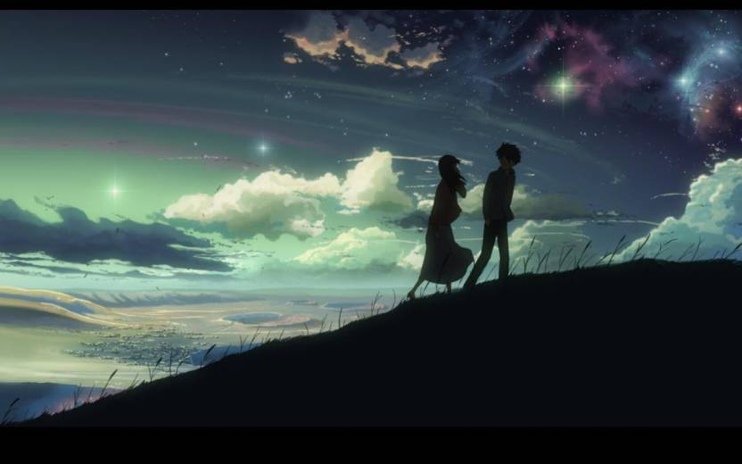 Athah Anime 5 Centimeters Per Second 5 Centimeters Per Second Makoto Shinkai 1319 Inches Wall Poster Matte Finish Paper Print 13 Inch X 19 Inch Rolled