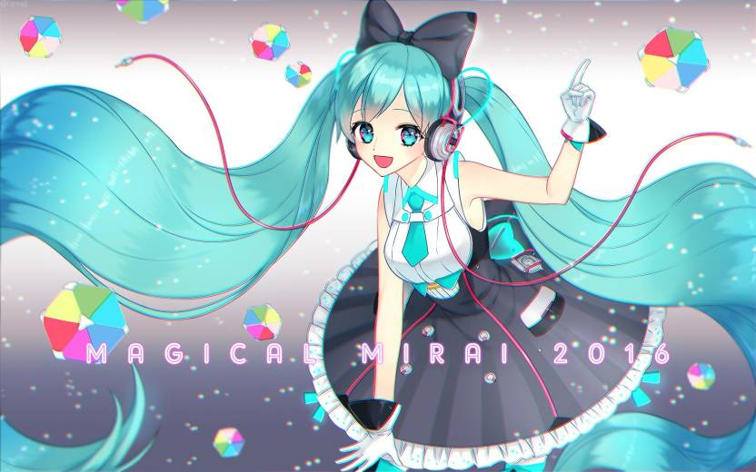 Athah Anime Vocaloid Hatsune Miku 1319 Inches Wall Poster Matte Finish Paper Print