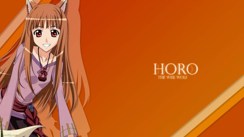 Athah Anime Spice And Wolf Holo 1319 Inches Wall Poster Matte
