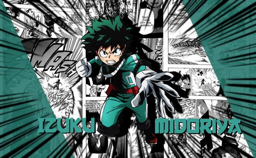 Athah Anime My Hero Academia Izuku Midoriya Manga Boku No Hero