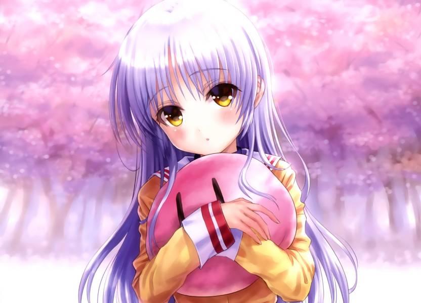 Athah Anime Crossover Kanade Tachibana Angel Beats! Clannad