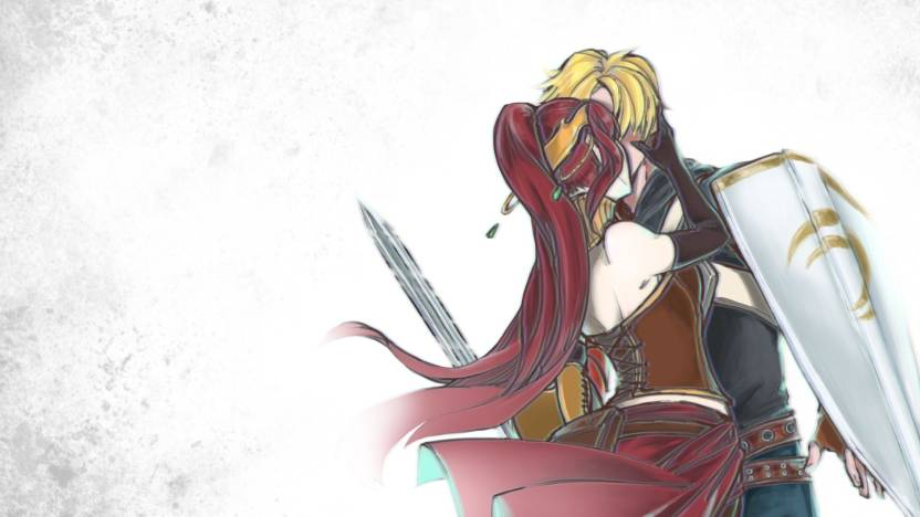 Athah Anime Rwby Pyrrha Nikos Jaune Arc 1319 Inches Wall Poster