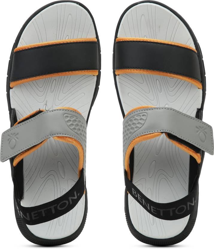 3184d3732b679 United Colors of Benetton Men 901 Sports Sandals - Buy Grey Color United  Colors of Benetton Men 901 Sports Sandals Online at Best Price - Shop  Online for ...