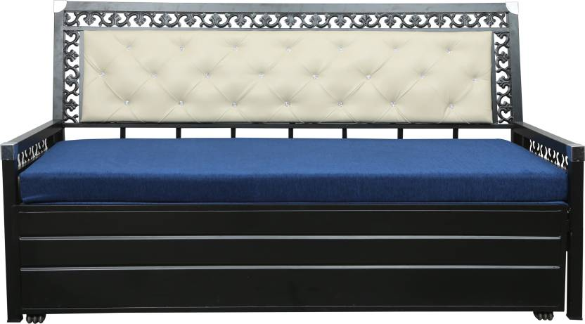 Swastik Furniture Double Metal Sofa Bed Price In India Buy Swastik
