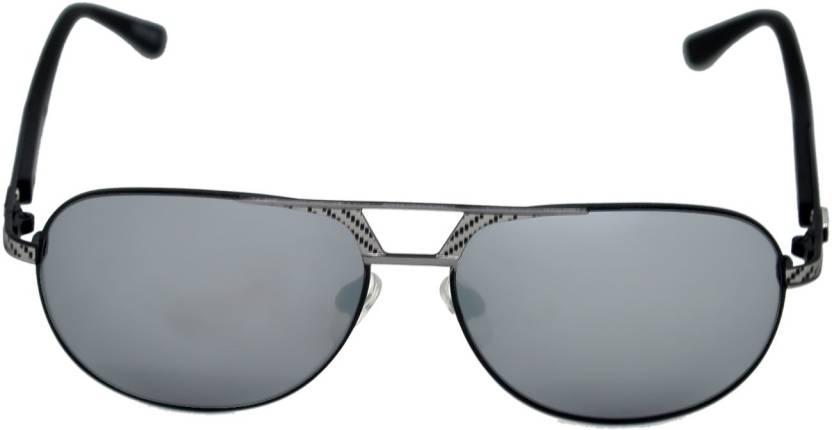 1079a5e293cb Buy BMW Aviator Sunglasses Silver For Men   Women Online   Best ...