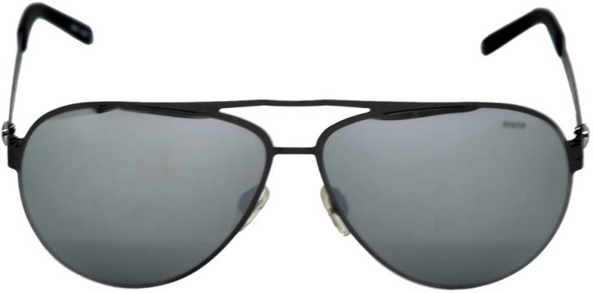 31992a6163b1 Buy BMW Aviator Sunglasses Silver For Men Online   Best Prices in ...