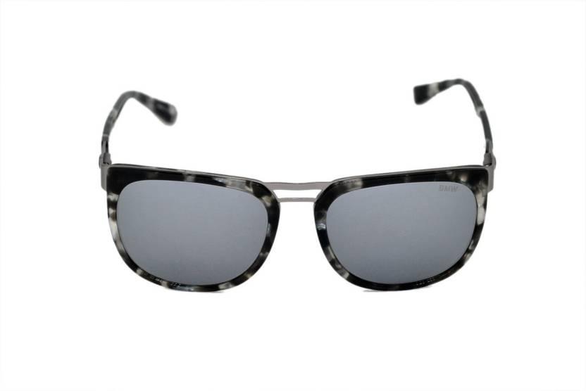 7264293284eb Buy BMW Wayfarer Sunglasses Grey For Men   Women Online   Best ...