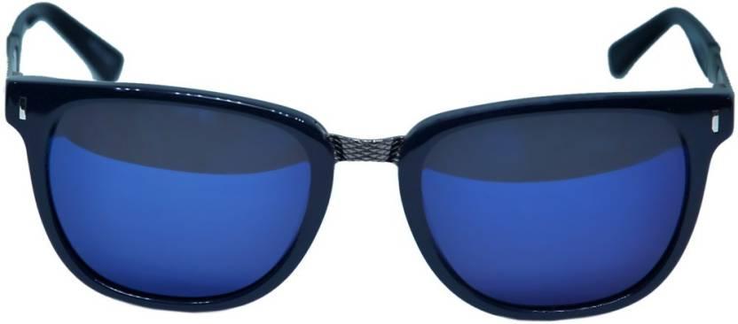 ce2e8ef786 Buy BMW Rectangular Sunglasses Blue For Men   Women Online   Best ...
