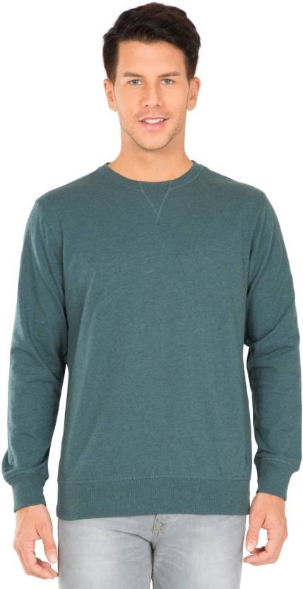 487e091c7bb Jockey Full Sleeve Solid Men's Sweatshirt - Buy Jockey Full Sleeve Solid Men's  Sweatshirt Online at Best Prices in India | Flipkart.com