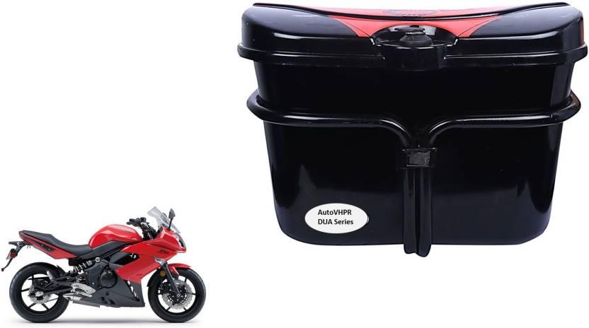 Autovhpr Dua Series Black Side Box For Kawasaki Ninja 400 Bike