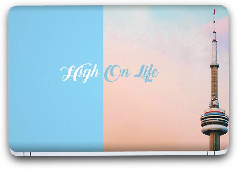 Flipkart SmartBuy Life Thoughts Printed Vinyl Laptop Skin (3M/Avery