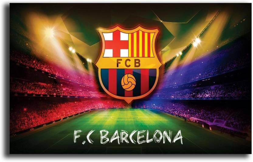 Pixel Artz F C Barcelona Poster 3d Poster Sports Posters