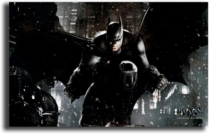 choose your size. Batman Arkham Origins Home Decor Canvas Print