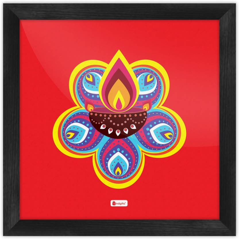 Diwali Gift Items Gifts For Home Deepavali Decoration Decor Poster Walls Wall S PSFSWBK01SQ10 ETN16082 Paper Print 10 Inch X