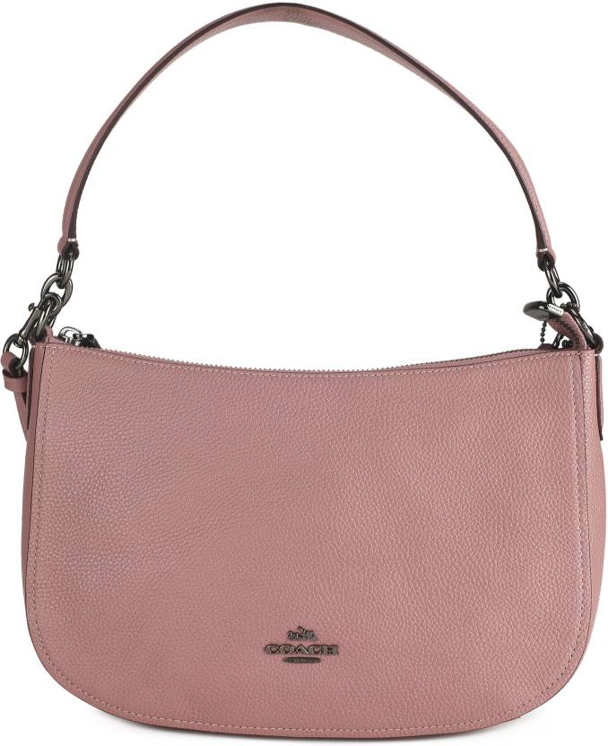 5836221567 Coach Women Casual Pink Genuine Leather Sling Bag Dusty Rose - Price in  India