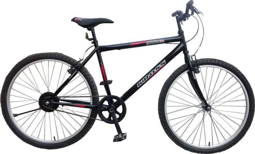 Kross Globate Single Speed 26 T Mountain Cycle Single Speed, Black  Kross Cycles