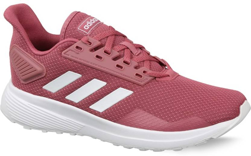 best service eded5 a413d ADIDAS DURAMO 9 Running Shoes For Women (Red)