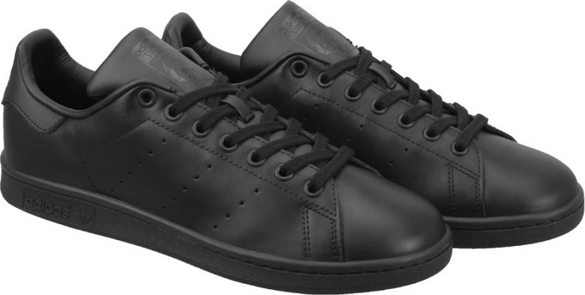 finest selection 696d6 ac930 ADIDAS STAN SMITH Casuals For Men (Black)