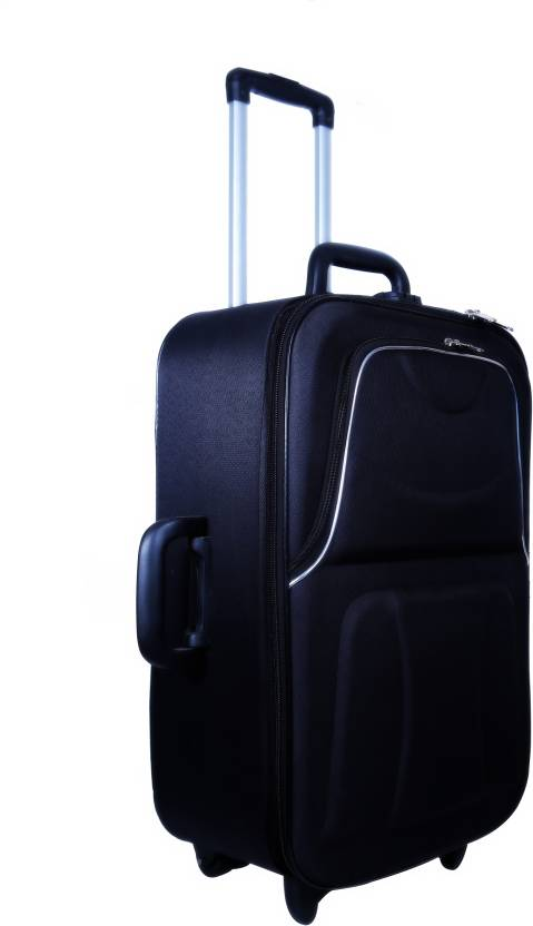 472ef13d500f Nuremberg Suitcase Trolley  Travel  Tourist Bag Check-in Luggage - 24 inch  (Black)