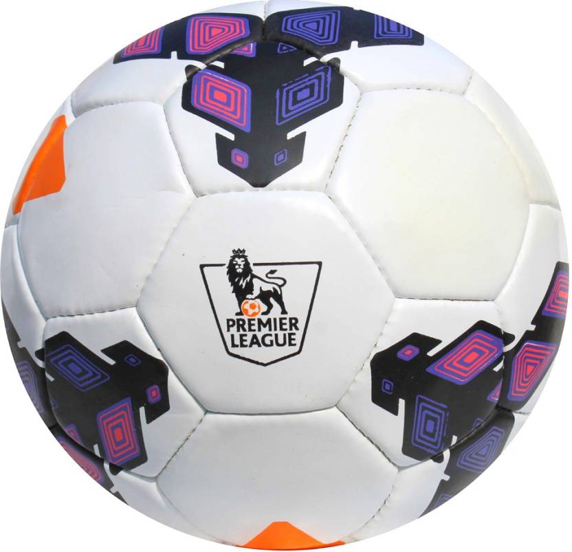 d4f34f42a Neulife Premier League Strike Football With Air Fill Pin Football - Size: 5  (Pack of 1, Purple)