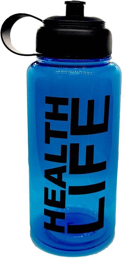 RIANZ Fitness Slogan-(Health Life) Sport Water Bottle 1000