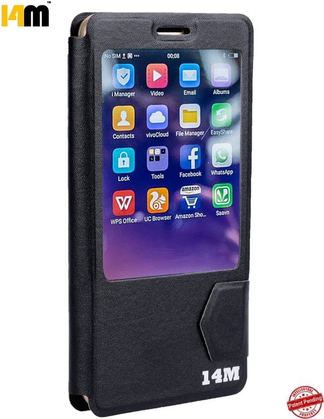 premium selection ba7b2 8533e 14M Flip Cover for MICROMAX CANVAS 5 LITE Q462 - 14M : Flipkart.com