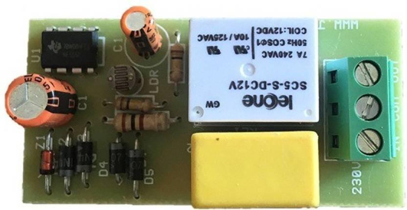 Jr Electrokits Automatic Day Night On Off Switch Dusk Dawn Photoelectric Sensor 220v Ac