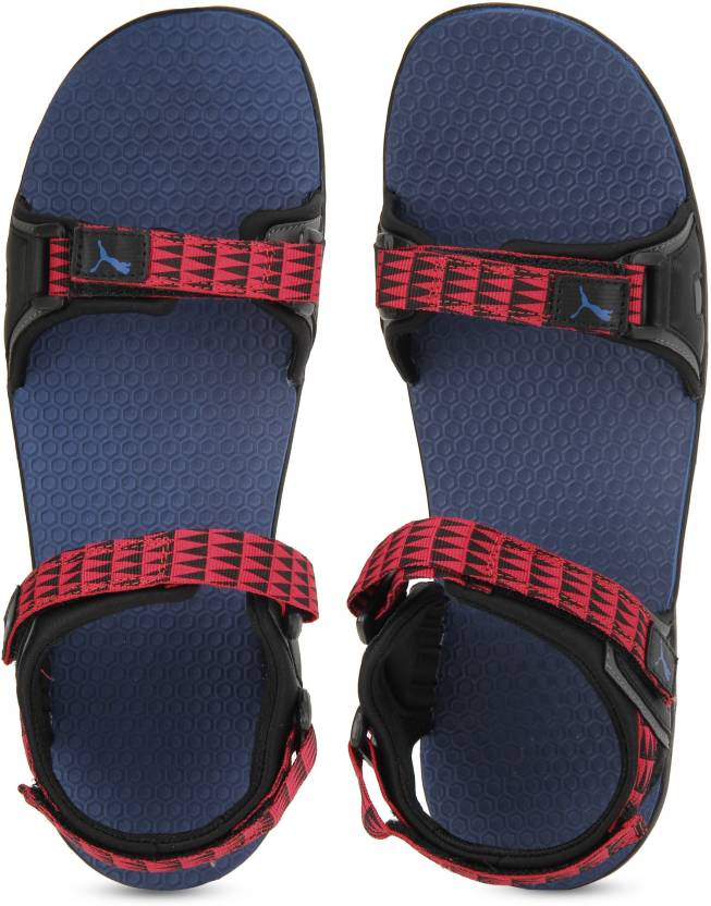 2d0d35dc3fe1 Puma Men Sodalite Blue-High Risk Red-Iron Gate-Black Sports Sandals - Buy Puma  Men Sodalite Blue-High Risk Red-Iron Gate-Black Sports Sandals Online at  Best ...