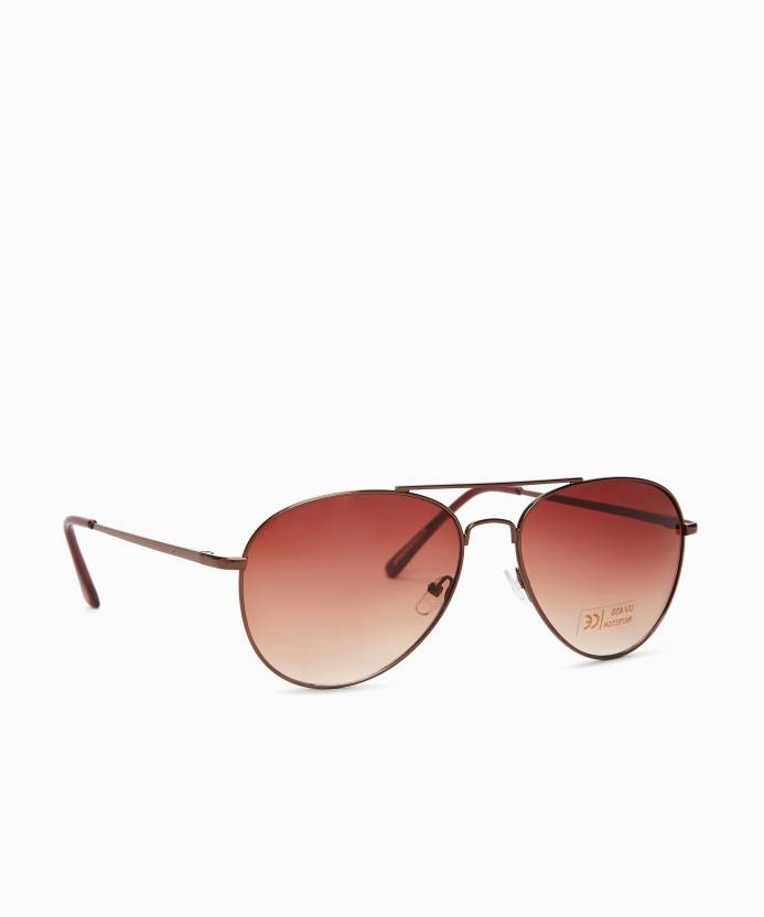 a2ad1080dbcf Buy Provogue Aviator Sunglasses Brown For Men & Women Online @ Best ...