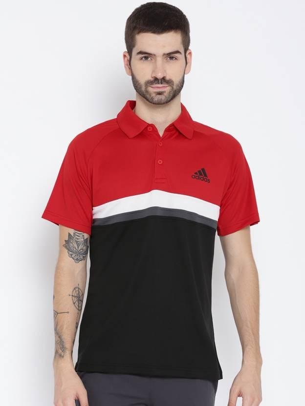 T MannenVeelkleurig Red Adidas Poloshirt Voor Kopen Self Design shirt 7bfvI6gyY