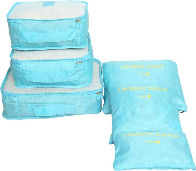 dc9b084991dc kuber industries 6 Pieces Travelling Mesh Laundry Pouch/Cloth ...