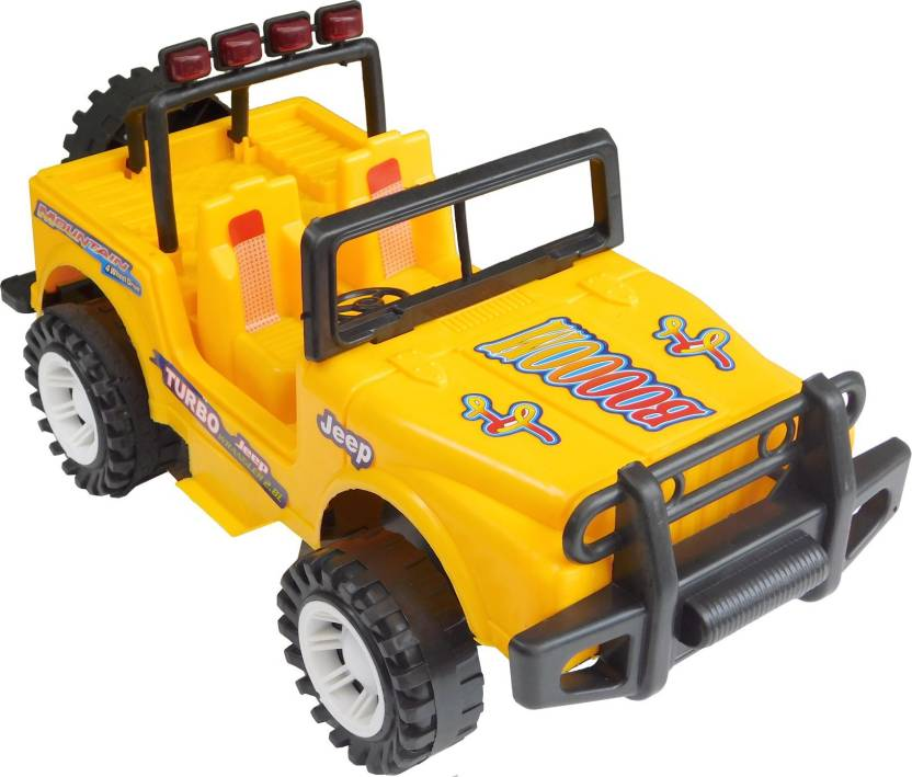 Turbo Non Battery Operated Big Jeep Toy For Kids Children Non