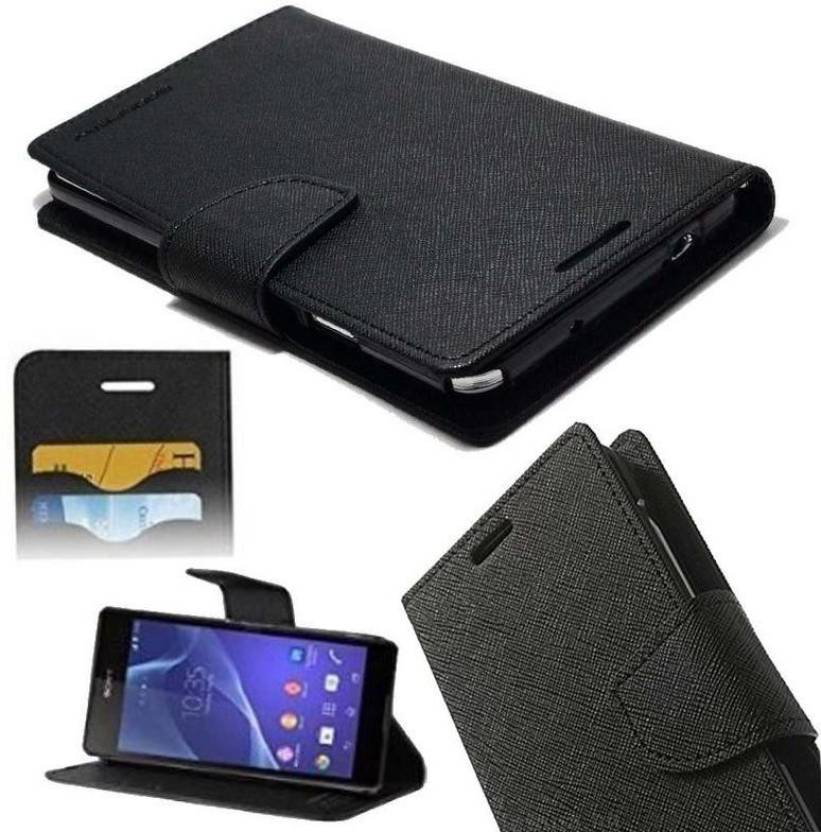 the best attitude 688f1 0afe1 Peaksters Flip Cover for Flip Cover For vivo Y31 Black - Peaksters ...