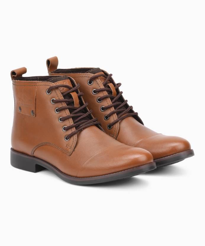 f5ce81e46c3 Lee Cooper LC2025 Boots For Men - Buy TAN P1 Color Lee Cooper LC2025 ...