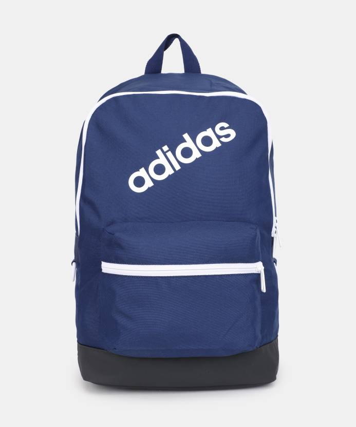 ADIDAS BP DAILY 22 L Laptop Backpack DKBLUE CARBON WHITE - Price in ... d22a3f398260e