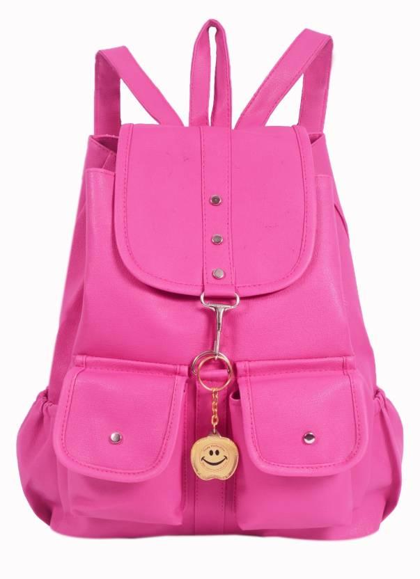 5b67bbea4702e3 Beets Collection Girls' Backpack School Bag Student Backpack ( Pink ) 9 L 9  Backpack (Pink)