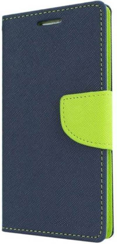Groovy Flip Cover for Mi Redmi Note 4 Green, Blue